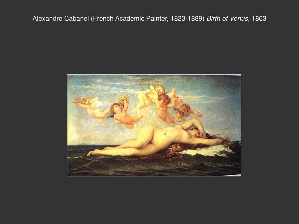 Alexandre Cabanel (French Academic Painter, 1823-1889)