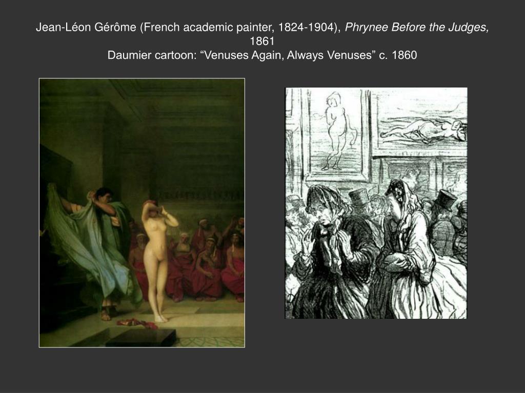 Jean-Léon Gérôme (French academic painter, 1824-1904),