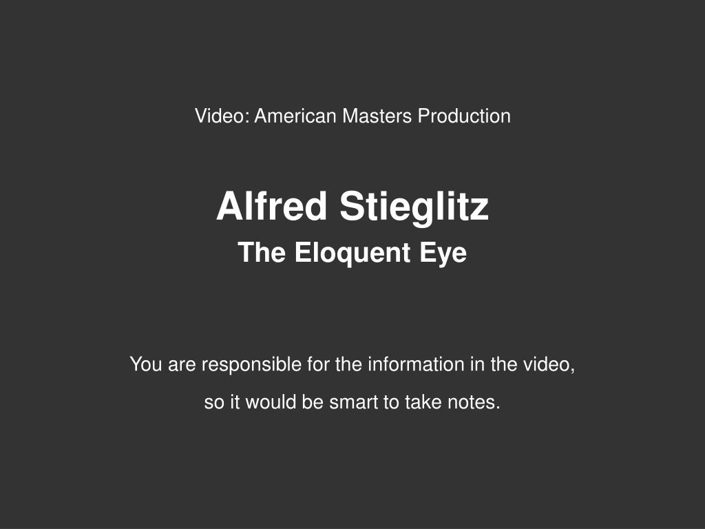 Video: American Masters Production