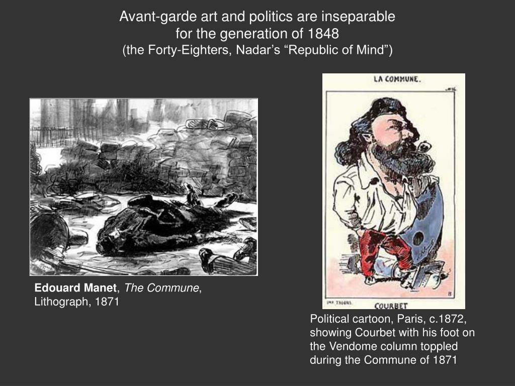 Avant-garde art and politics are inseparable