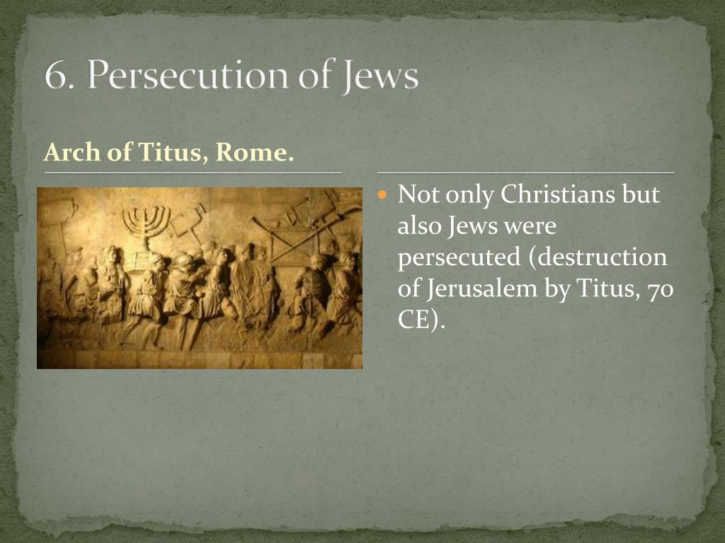 a history of christian persecutions Rick wade surveys the history of persecution of the early church and the roman emperors persecution in the early church history of the christian church.