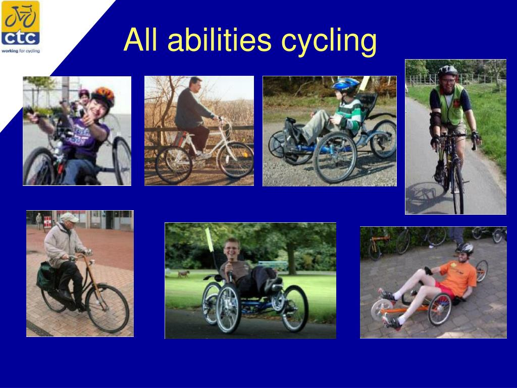 All abilities cycling