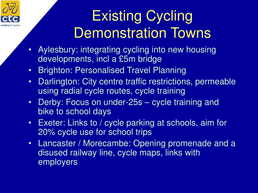 Existing Cycling