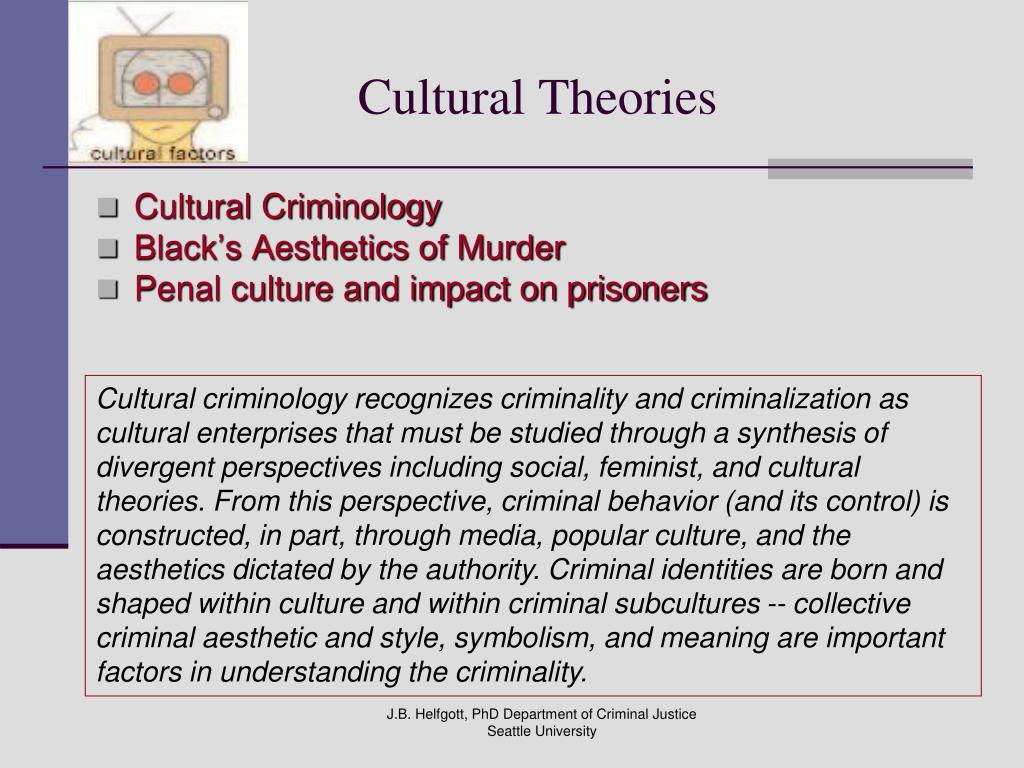 Cultural Theories