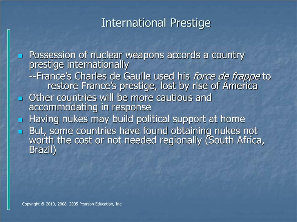 International Prestige