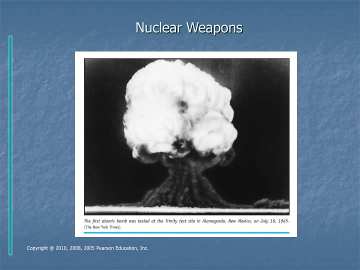 Nuclear weapons l.jpg