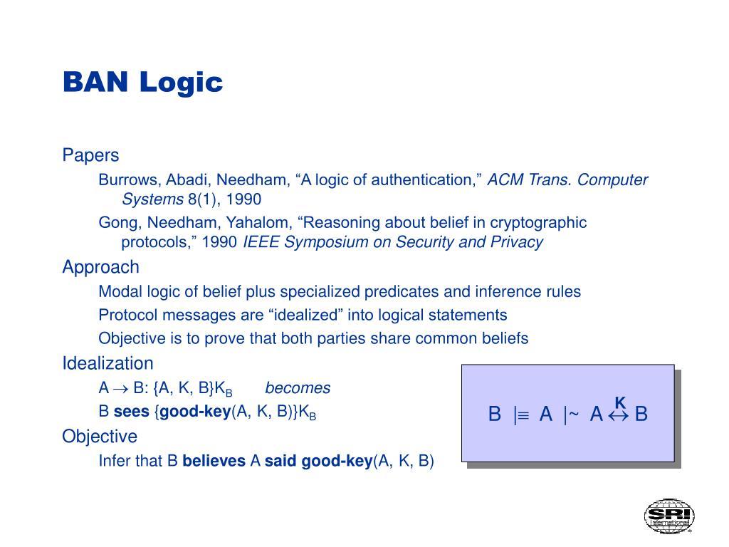 BAN Logic