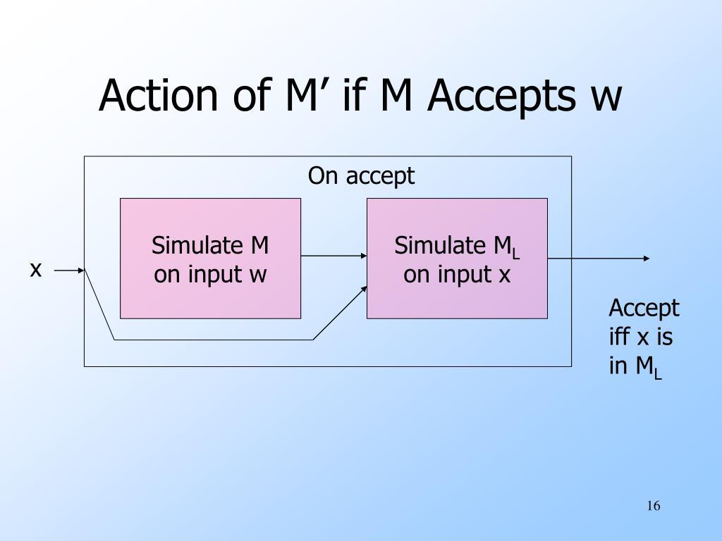 On accept