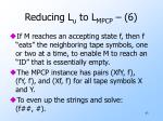 reducing l u to l mpcp 6