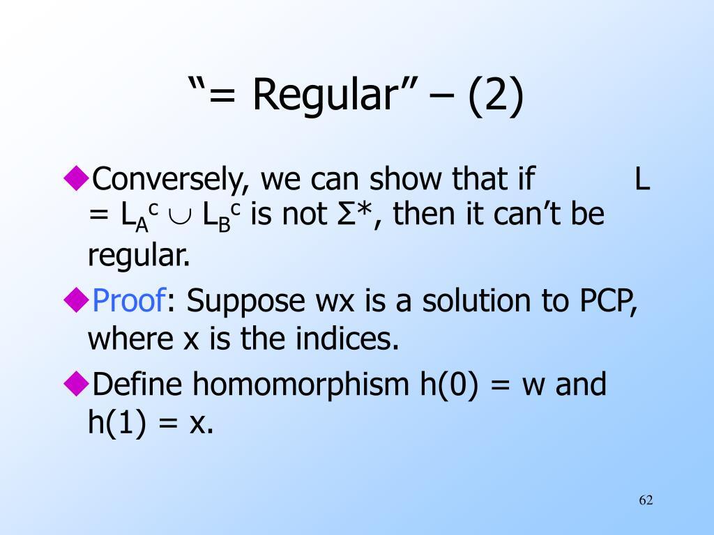"""= Regular"" – (2)"