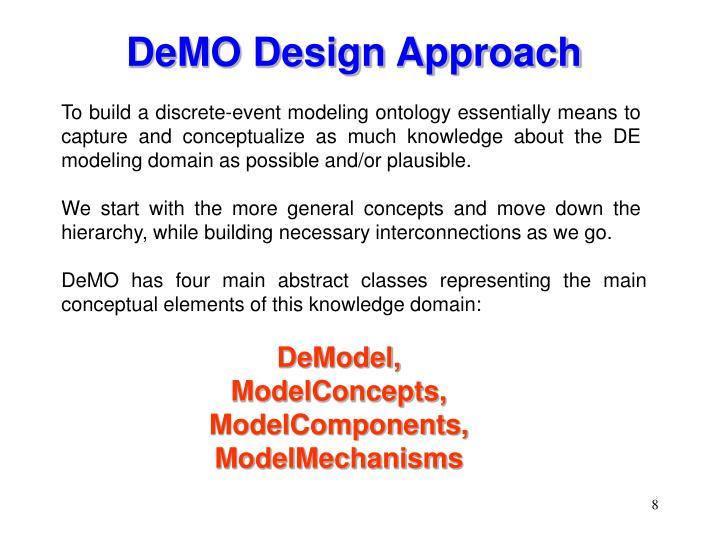 DeMO Design Approach