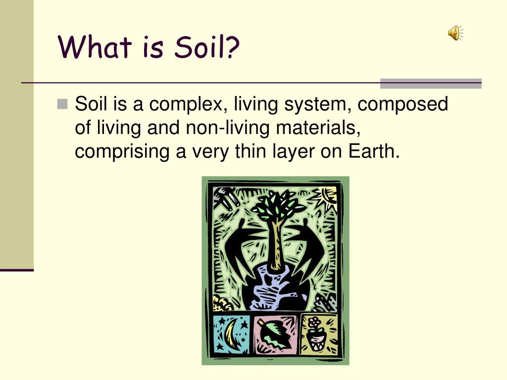Ppt a riddle powerpoint presentation id 243295 for What is important to know about soil layers