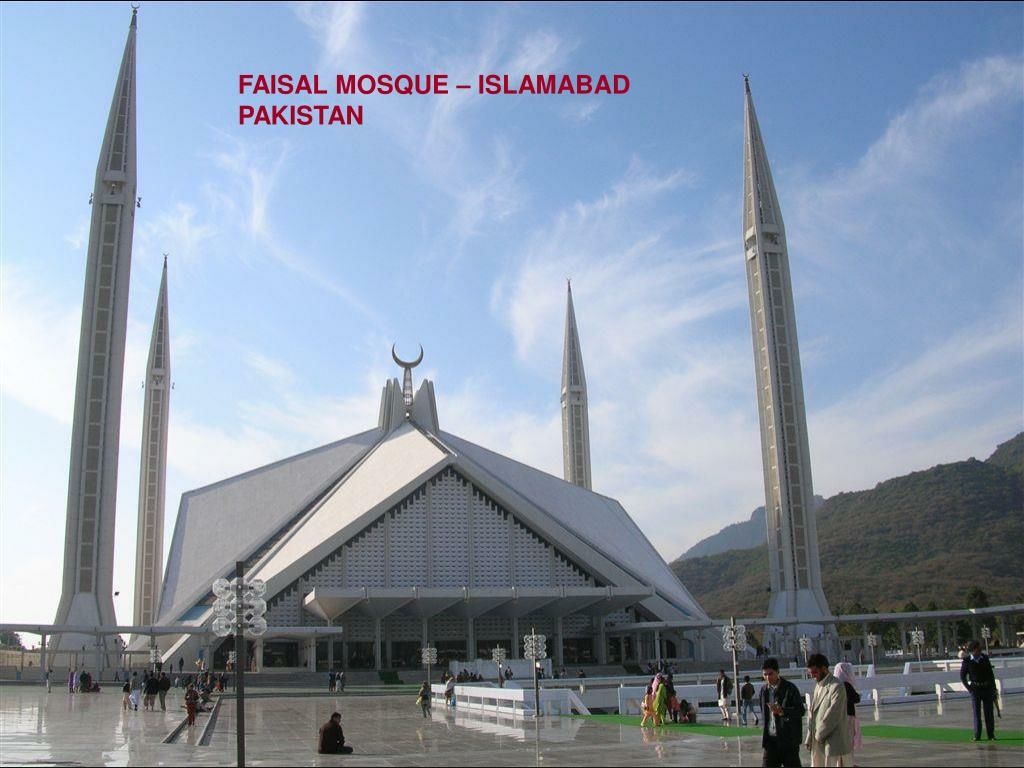 FAISAL MOSQUE – ISLAMABAD