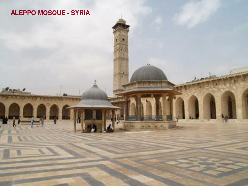 ALEPPO MOSQUE - SYRIA
