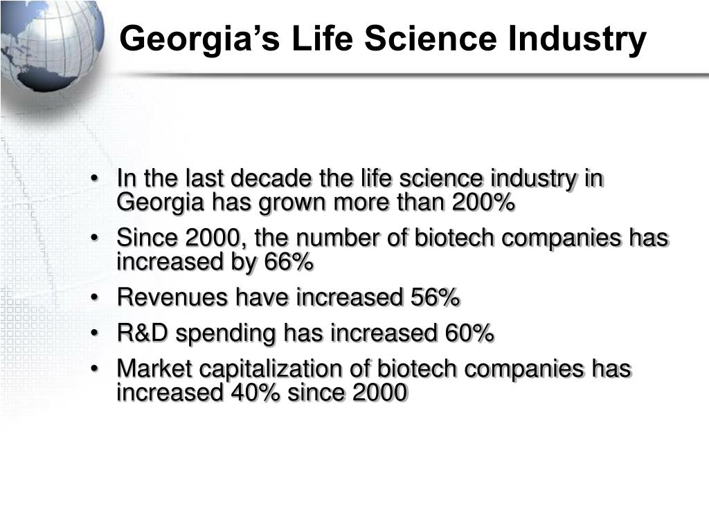 Georgia's Life Science Industry
