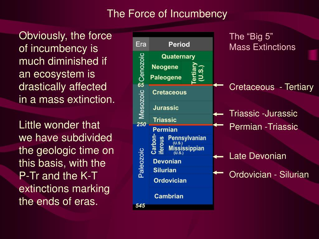 The Force of Incumbency