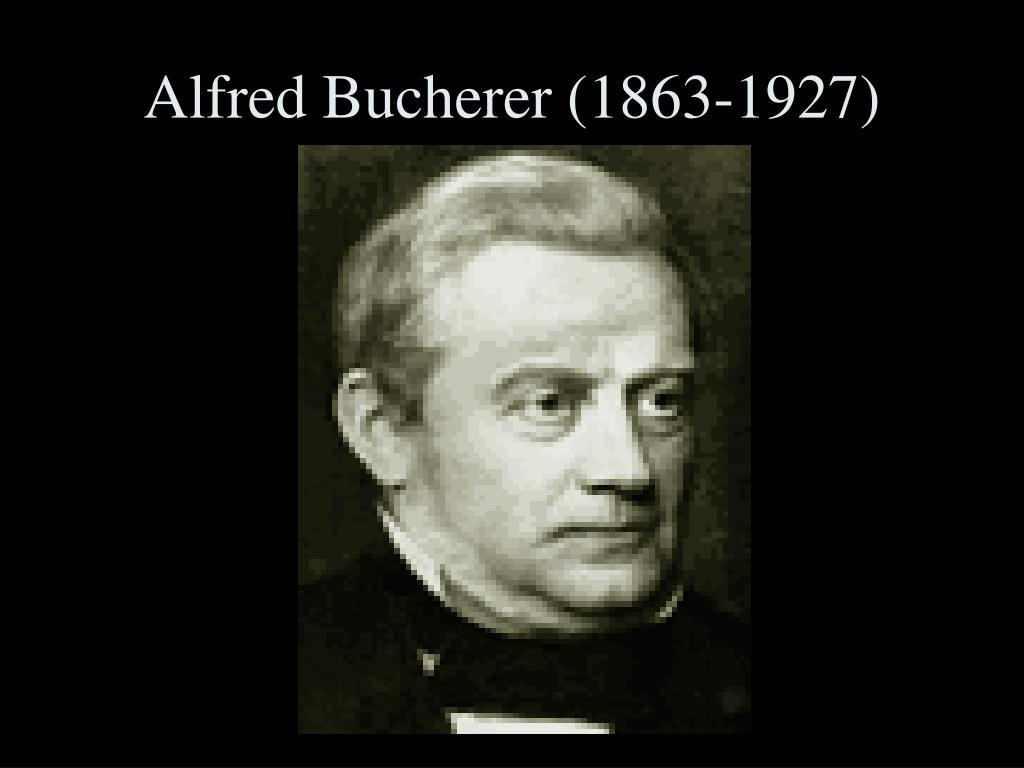 Alfred Bucherer (1863-1927)