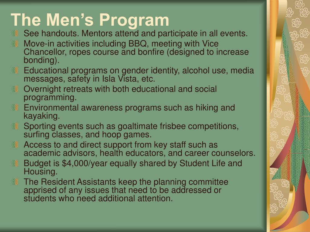 The Men's Program