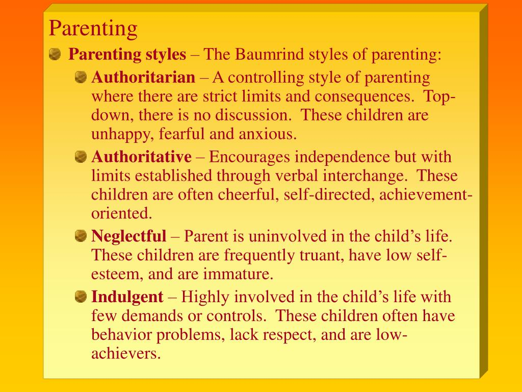 parenting styles and socioemotional ddevelopment in We examined the relationship between authoritative and authoritarian parenting styles and socio-emotional adjustment in elementary school v c (1990) the impact of economic hardship on black families and children: psychological distress, parenting, and socioemotional development child.