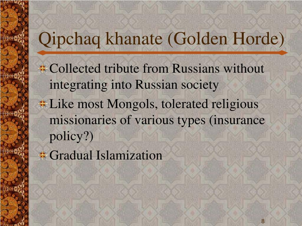 Qipchaq khanate (Golden Horde)