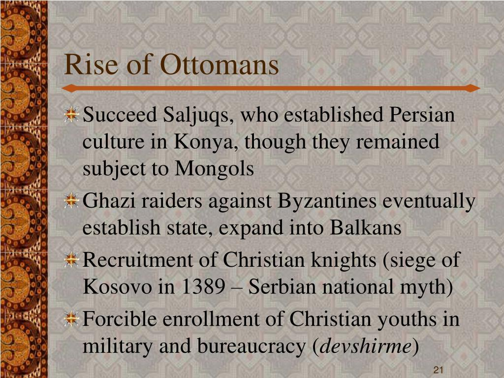 Rise of Ottomans