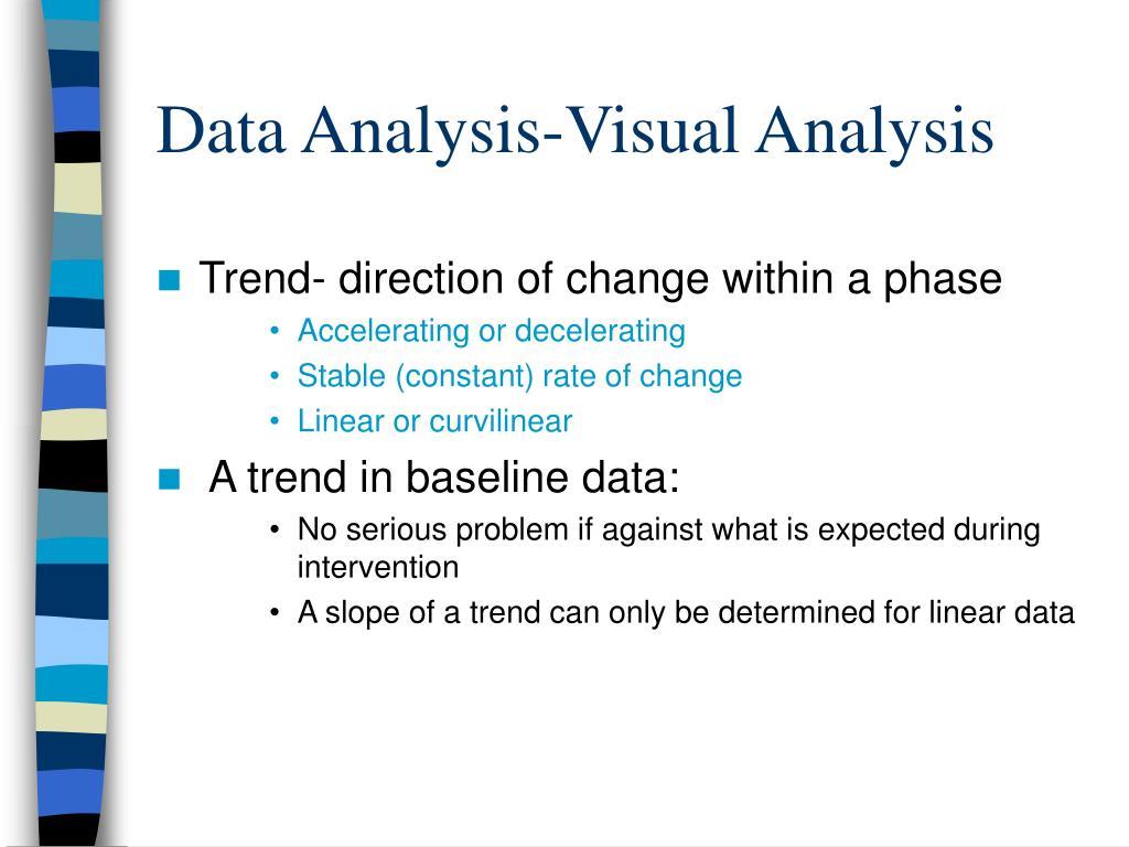 Data Analysis-Visual Analysis