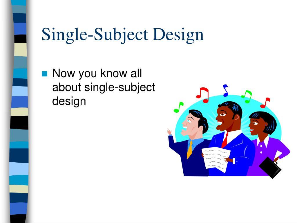 Single-Subject Design