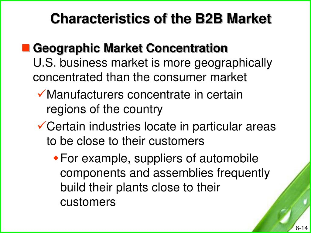 characteristics of industrial marketing Process of industrial purchasing or of industrial marketing in contrast, we in contrast, we emphasize the similarity of the tasks of buyers and sellers in industrial markets.