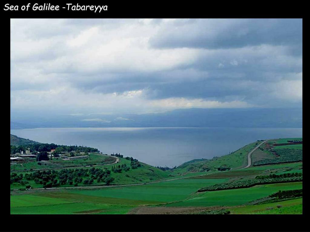 Sea of Galilee -Tabareyya