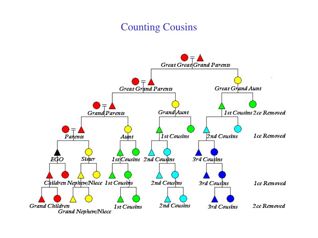 Counting Cousins