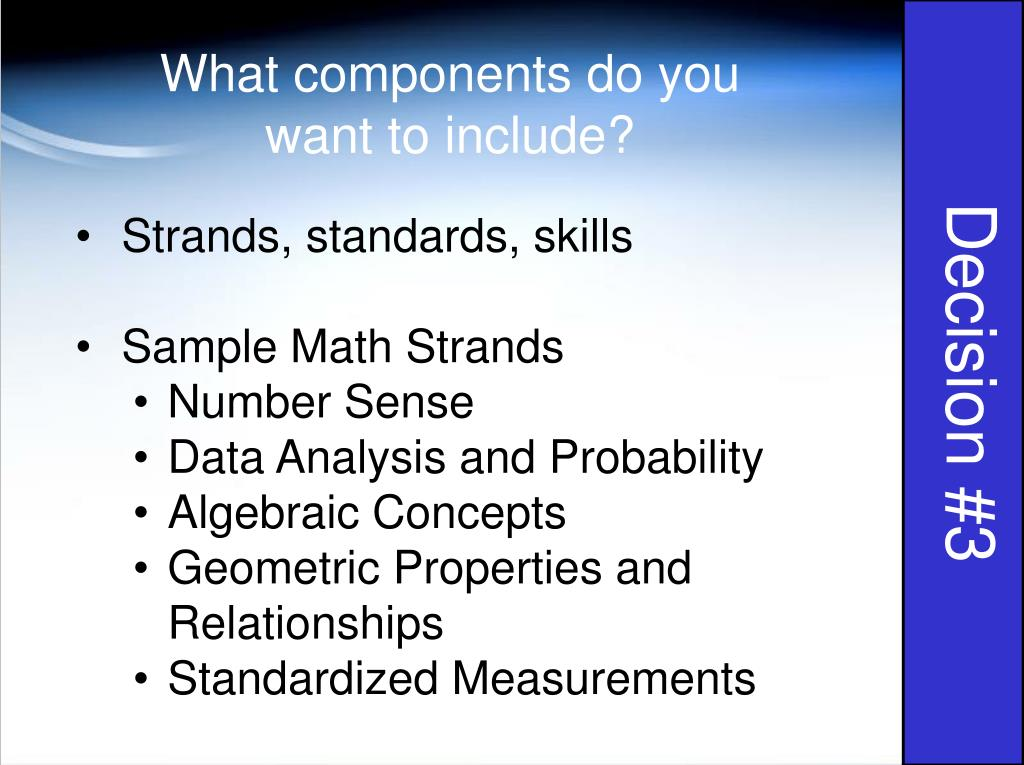 What components do you