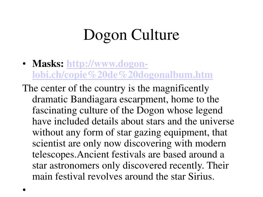 Dogon Culture