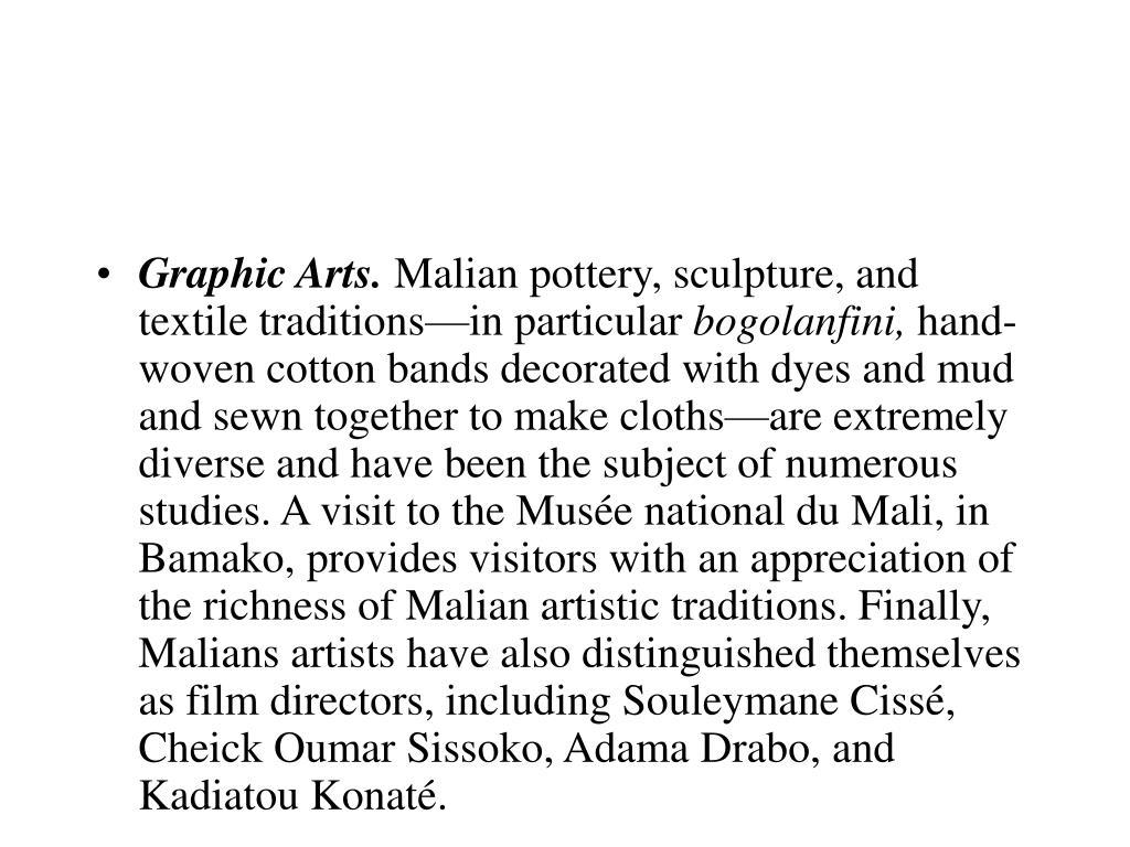 Graphic Arts.