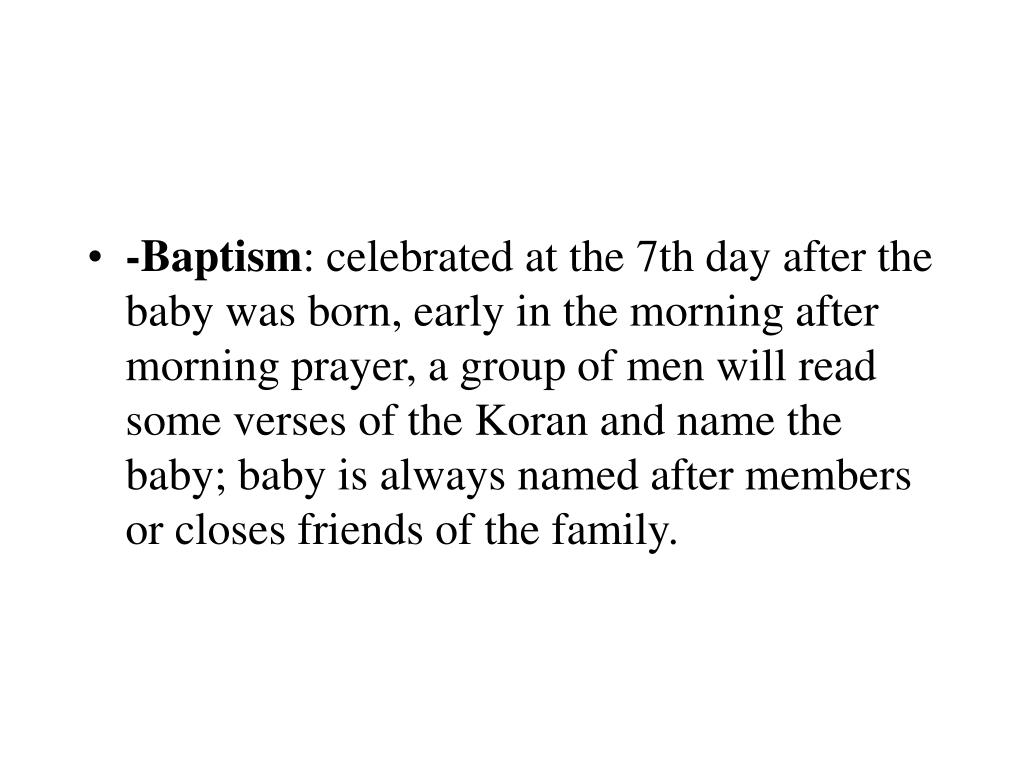 -Baptism