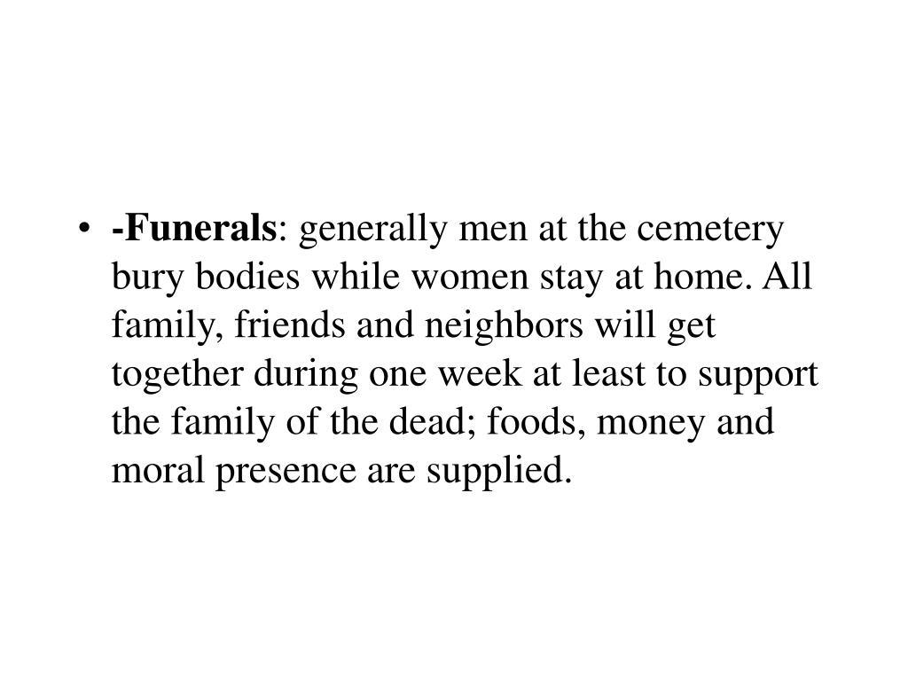 -Funerals