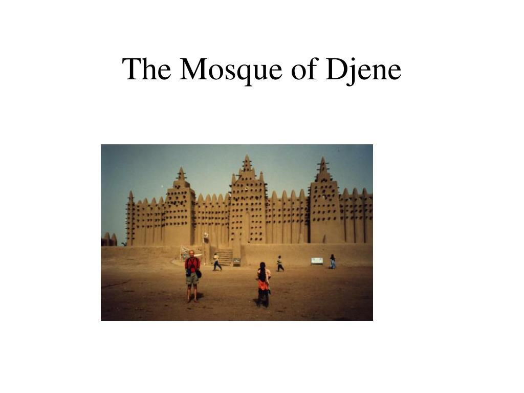 The Mosque of Djene