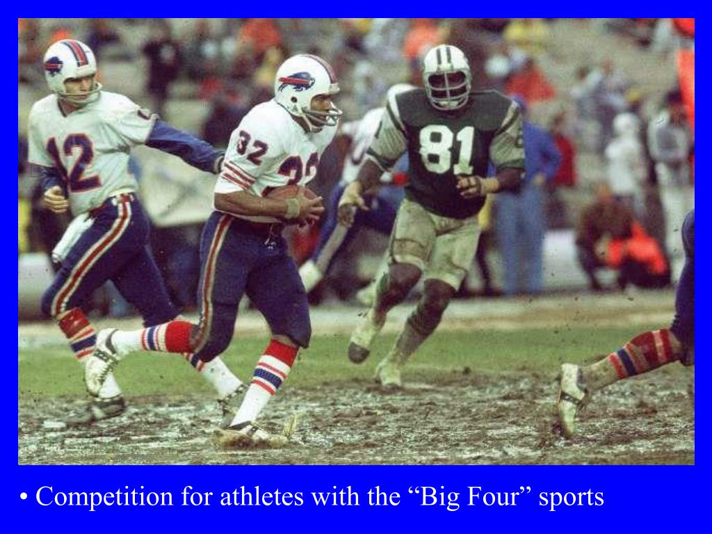 "Competition for athletes with the ""Big Four"" sports"
