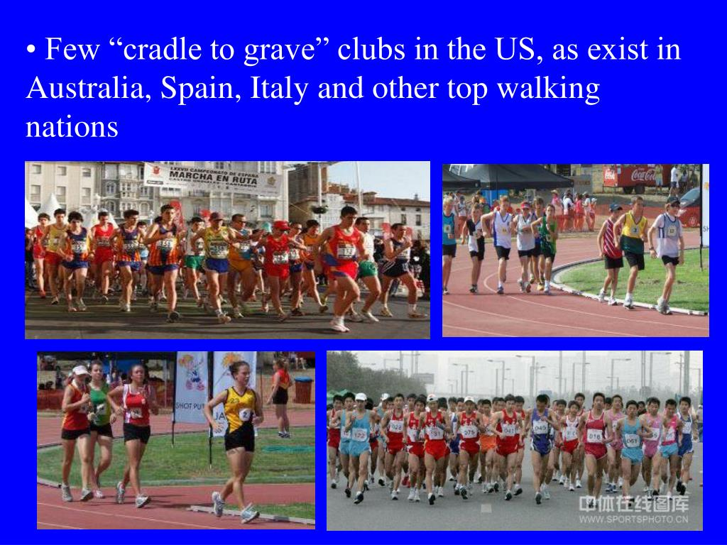"Few ""cradle to grave"" clubs in the US, as exist in Australia, Spain, Italy and other top walking nations"