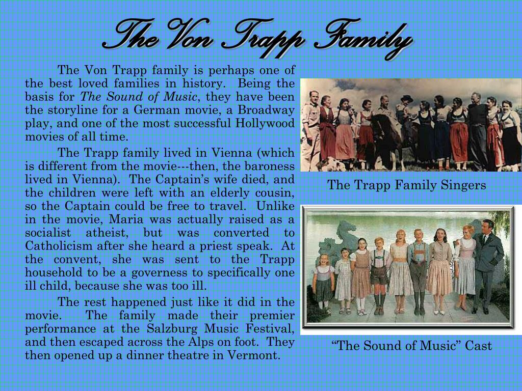 The Von Trapp Family