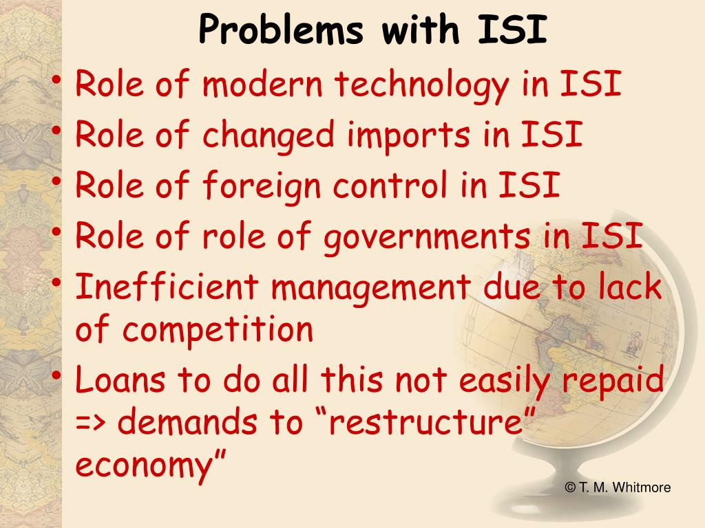 Problems with ISI