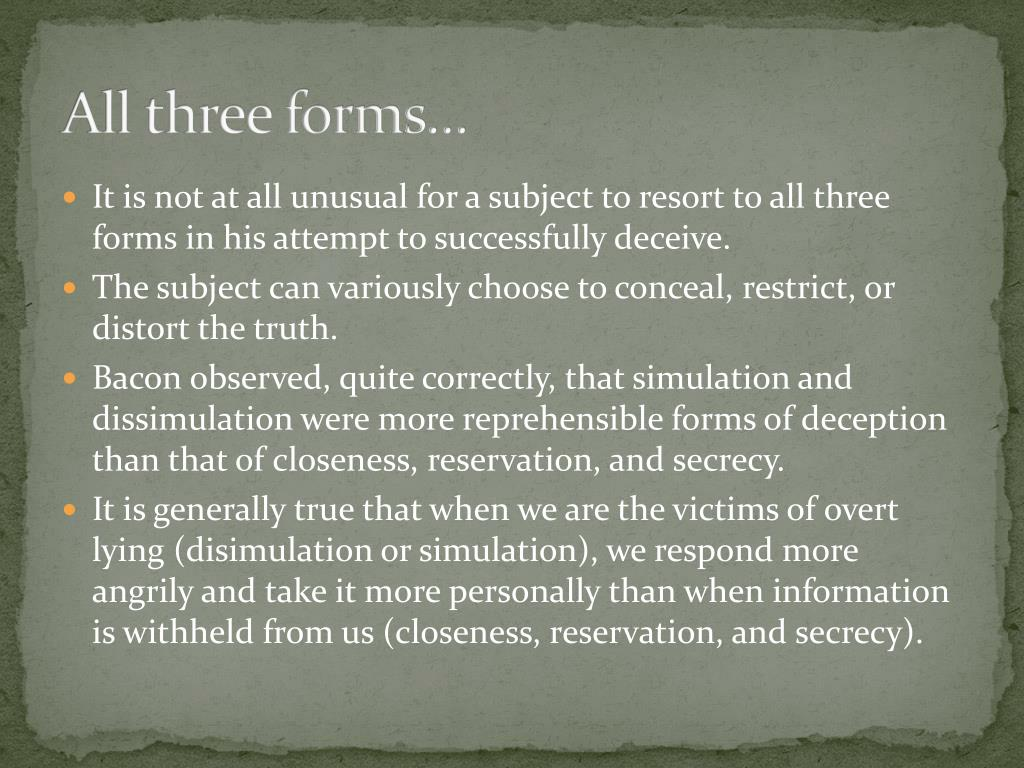 All three forms