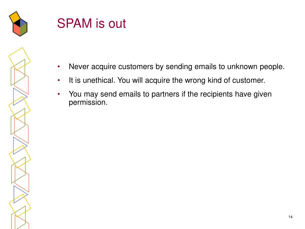 SPAM is out