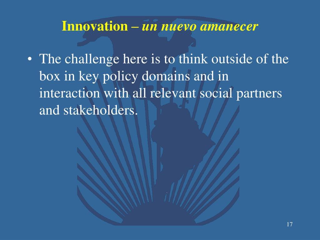 Innovation –