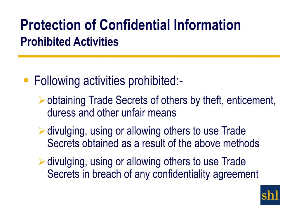 breach of confidentiality the legal implications Breach of confidence in english law the in 1990 florida passed a 'sunshine in litigation' law that limits confidentiality from concealing public hazards.