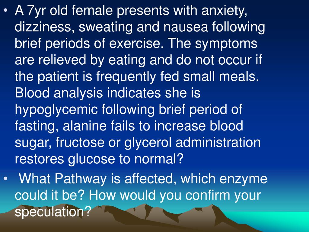 A 7yr old female presents with anxiety, dizziness, sweating and nausea following brief periods of exercise. The symptoms are relieved by eating and do not occur if the patient is frequently fed small meals. Blood analysis indicates she is hypoglycemic following brief period of fasting, alanine fails to increase blood sugar, fructose or glycerol administration restores glucose to normal?