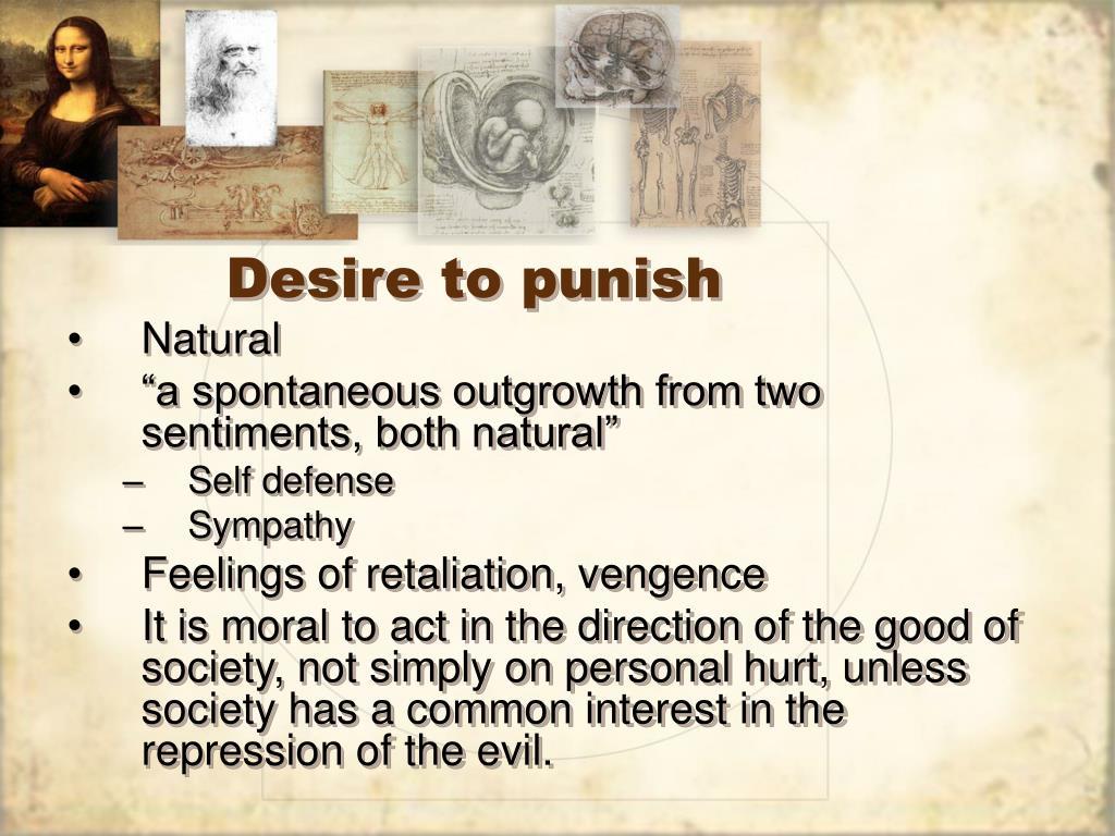 Desire to punish