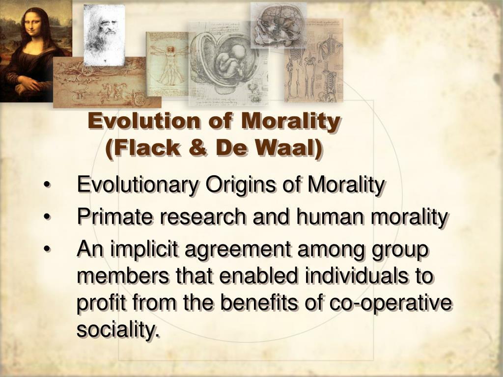Evolution of Morality