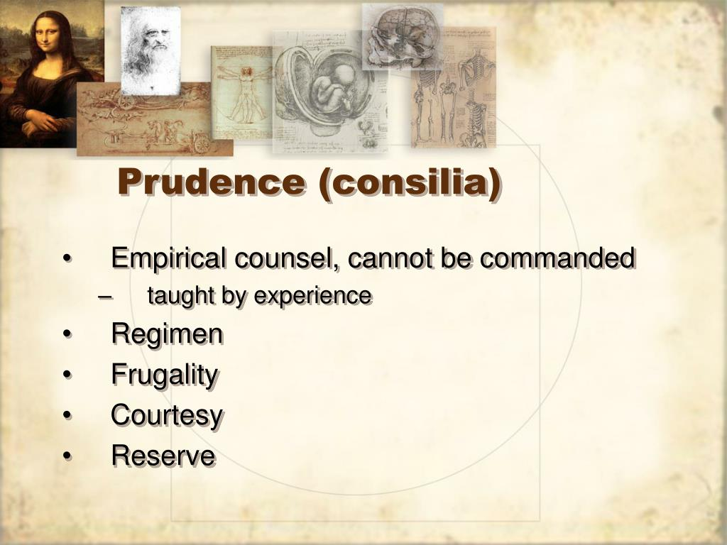 Prudence (consilia)