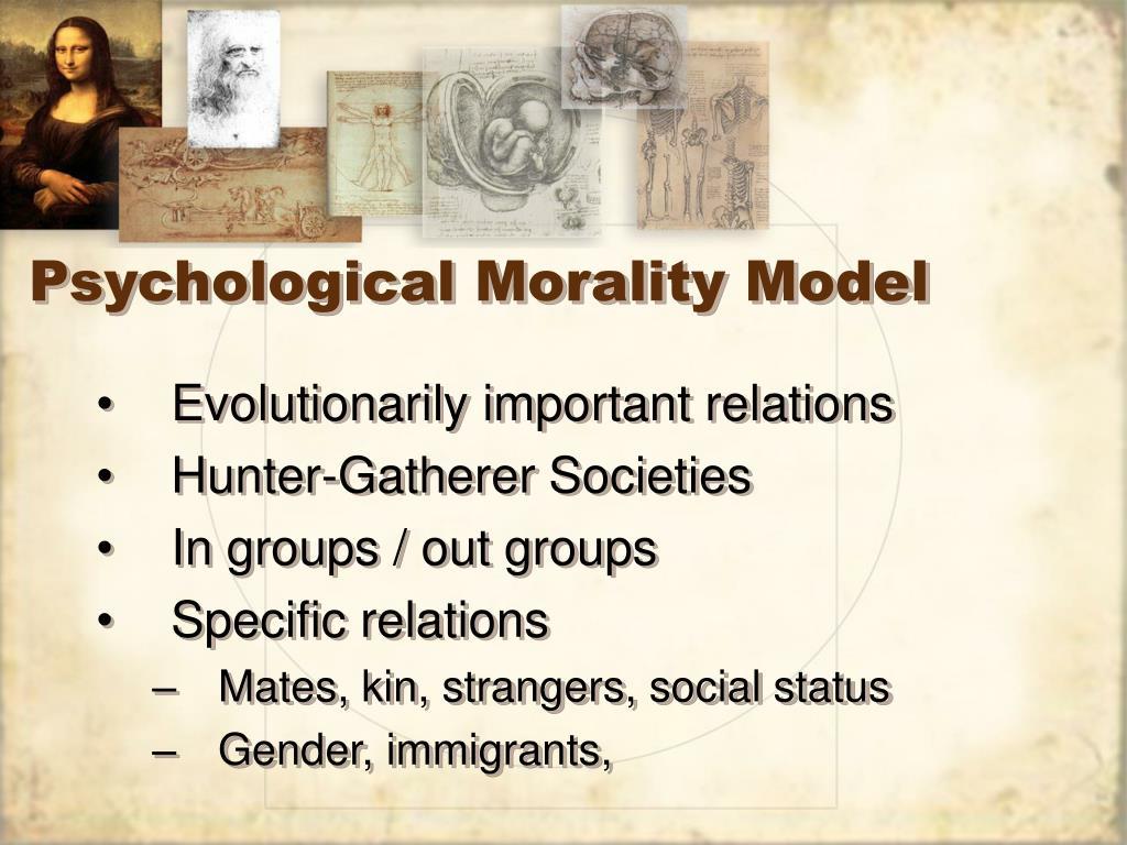 Psychological Morality Model