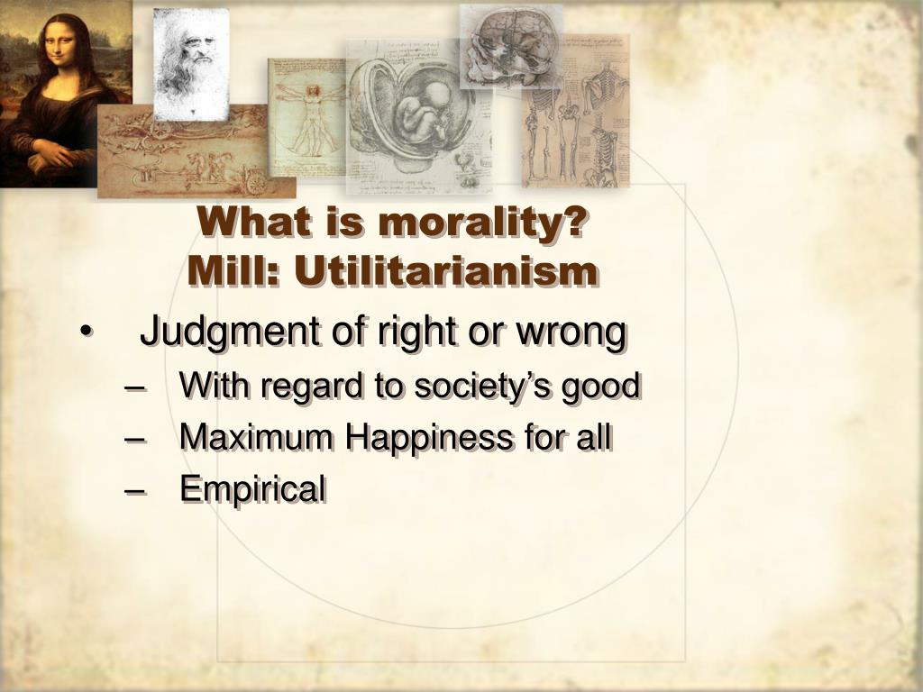 What is morality?